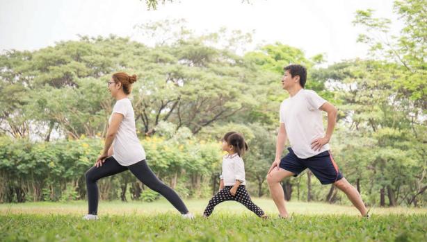 Thể dục giúp nâng cao sức khỏe