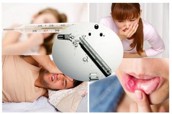 Một số triệu chứng của nhiễm độc thủy ngân