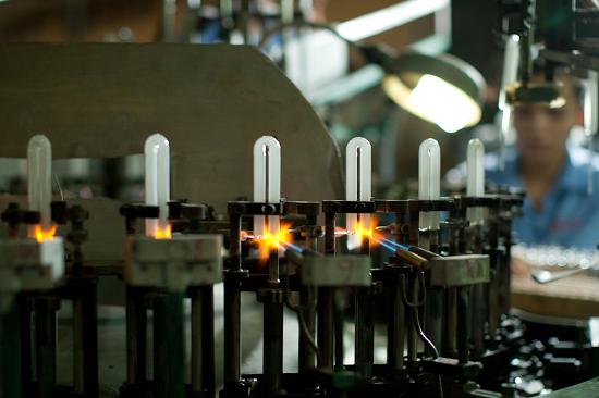 Nhà máy sử dụng thủy ngân trong sản xuất công nghiệp