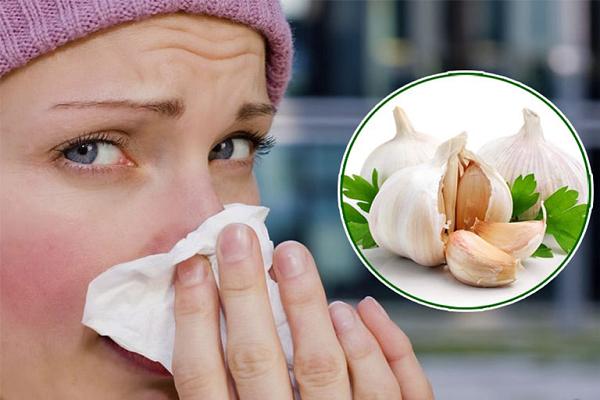 Chữa viêm mũi dị ứng bằng tỏi an toàn